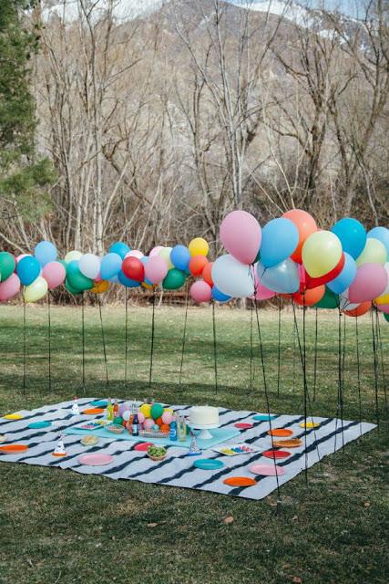 Comemore Aniversários infantis ao ar livre