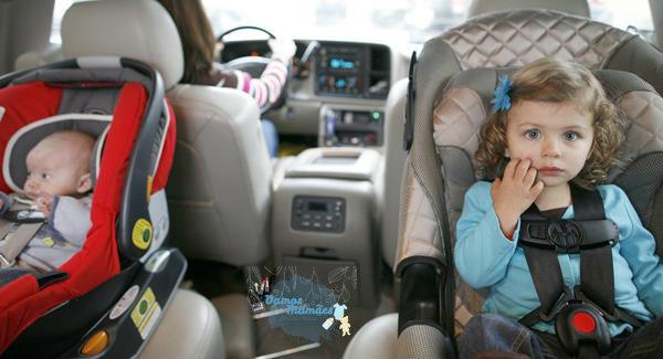 Multa para quem transporta crianças fora da cadeirinha irá aumentar